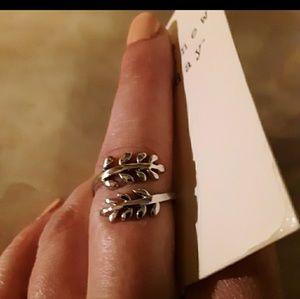 925 Ivy Wrap Ring